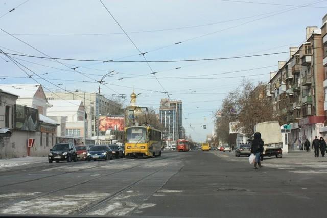 Улица Луначарского город Екатеринбург
