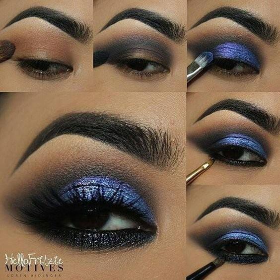 Пошаговые уроки макияжа глаз